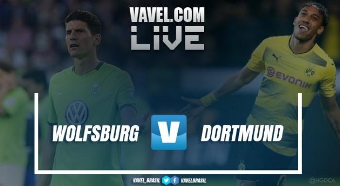 Resultado Wolfsburg x Borussia Dortmund pela Bundesliga 2017-18 (0-3)
