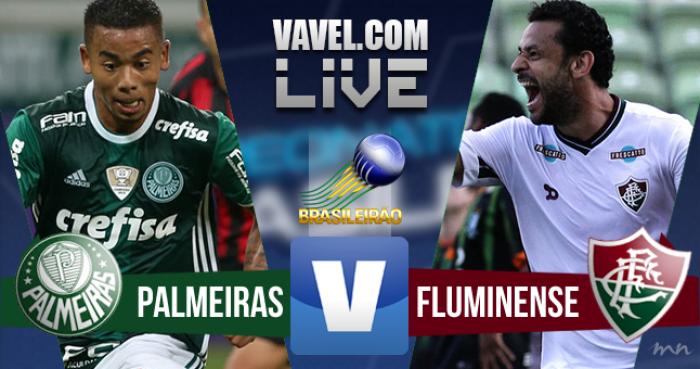 Resultado Palmeiras x Fluminense no Campeonato Brasileiro 2016 (2-0)