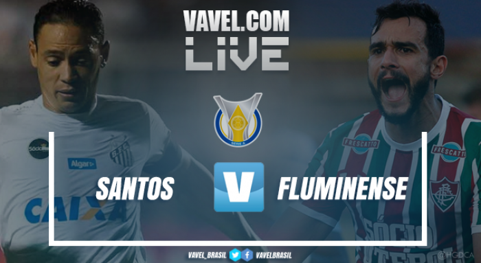 Resultado Santos x Fluminense no Campeonato Brasileiro 2017 (0-0)