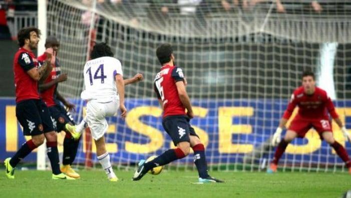 Cagliari - Fiorentina terminata in Serie A 2016/17 (3-5): Triplo Kalinic, doppio Bernardeschi!