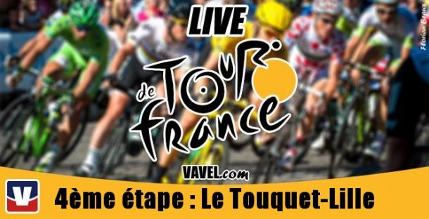 Live Tour de France 2014, la 4ème étape (Le Touquet - Lille) en direct