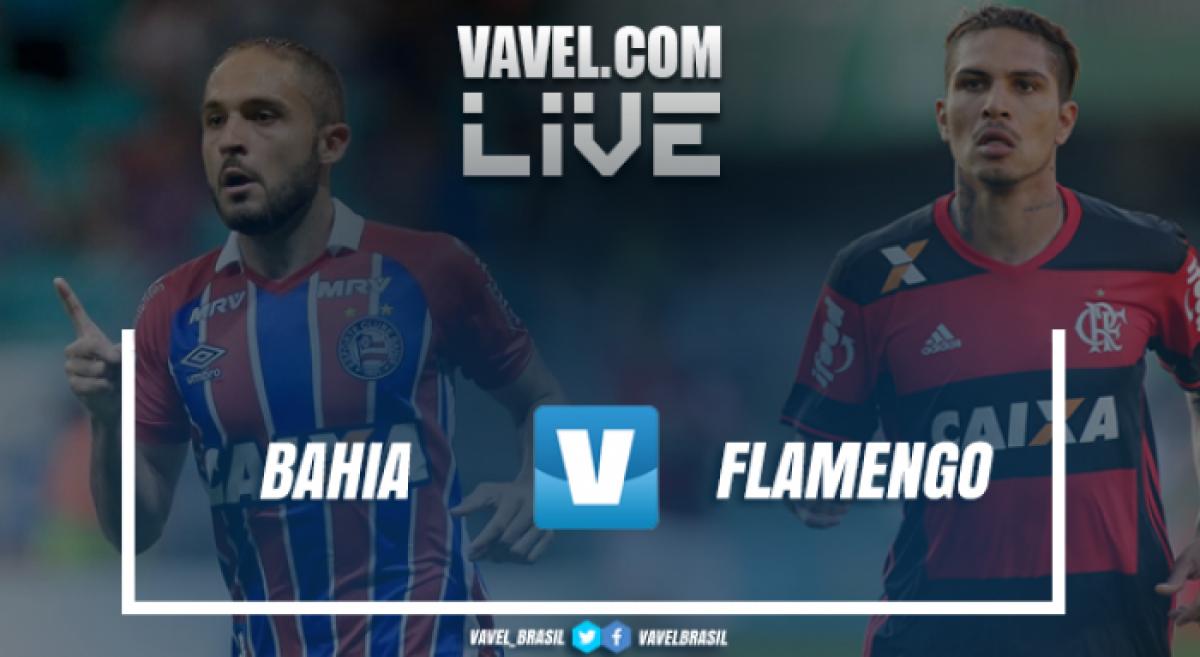 Flamengo vence o Bahia pelo Campeonato Brasileiro (2-0)