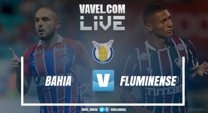 Resultado Bahia x Fluminense pelo Campeonato Brasileiro 2017 (1-1)