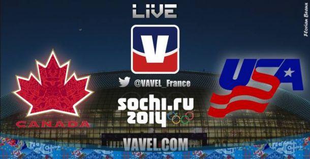 Live : Suivez en direct le match de hockey sur glace féminin Canada - Etats-Unis