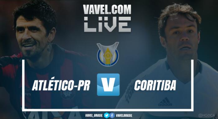 Resultado Atlético-PR x Coritiba pelo Campeonato Brasileiro 2017 (1-1)