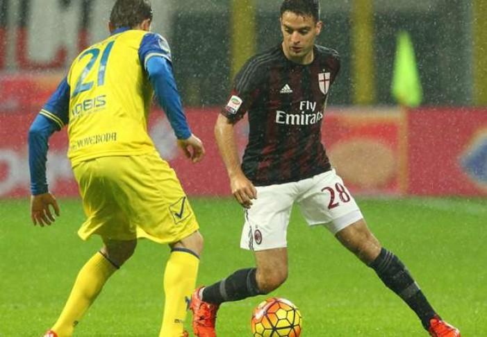 Terminata Chievo Verona - Milan in Serie A 2016/17 (1-3): Bacca la chiude (con deviazione)!