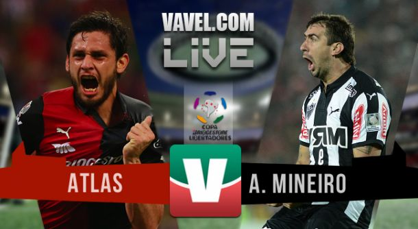 Resultado Atlas - Atlético Mineiro en Copa Libertadores 2015 (1-0)