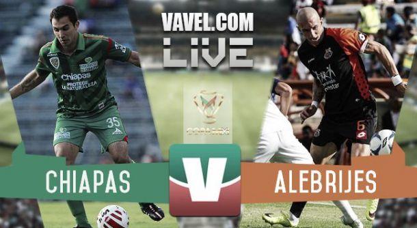 Resultado Jaguares Chiapas - Alebrijes Liga MX 2015 (3-3)