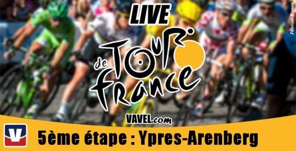 Live Tour de France 2014, la 5ème étape (Ypres - Arenberg) en direct