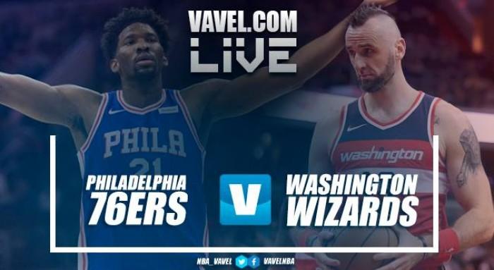 Philadelphia 76ers vs Washington Wizards EN VIVO y en directo online en NBA 2017/18 (118-113)