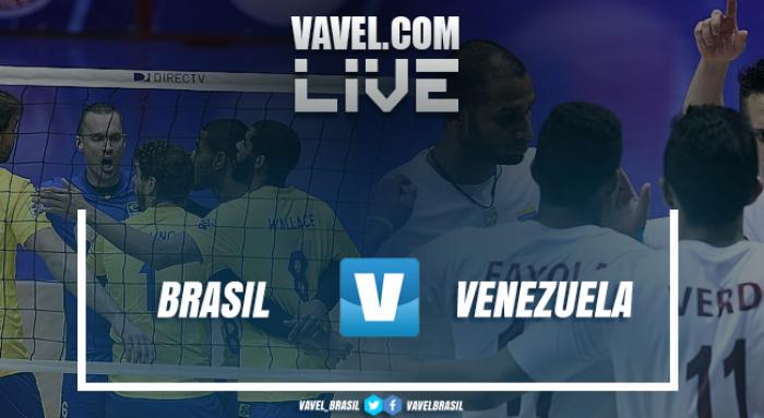 Resultado Brasil x Venezuela pela decisão do Sul-Americano de Vôlei (3-0)
