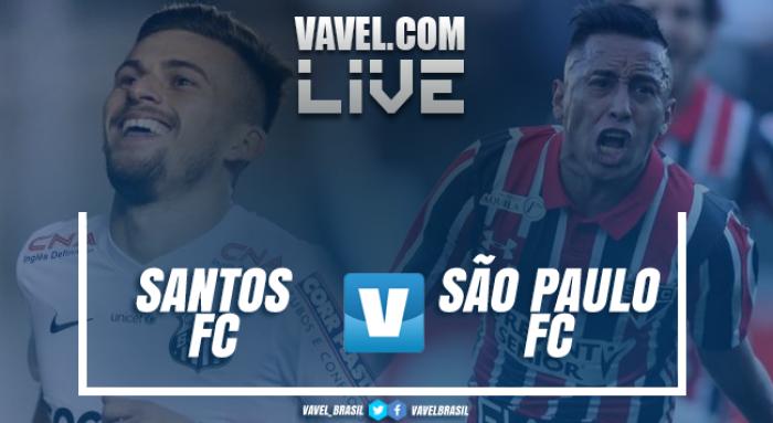 Resultado e gols Santos 1x3 São Paulo no Campeonato Paulista 2017