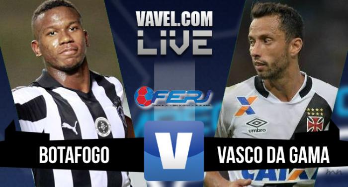 Resultado Botafogo x Vasco na final do Campeonato Carioca (0-1)