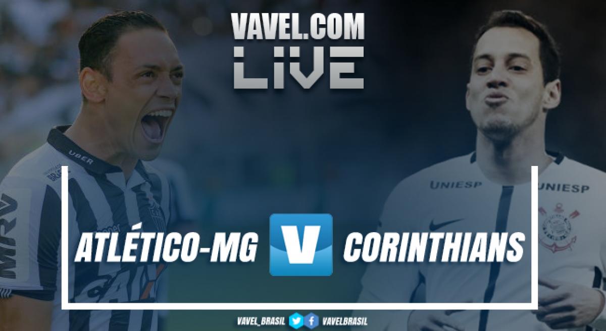 Resultado Atlético-MG x Corinthians no Campeonato Brasileiro (1-0)