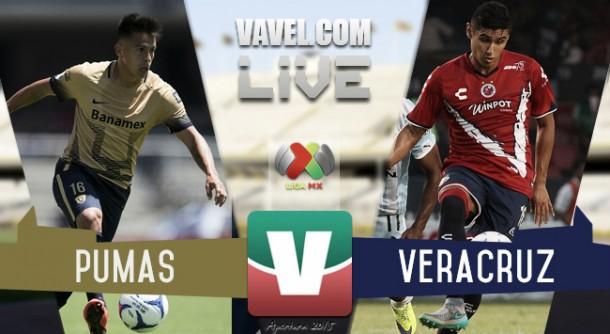 Resultado Pumas - Veracruz en Liguilla vuelta (1-0)