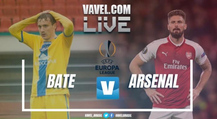 Resultado BATE Borisov x Arsenal pela Uefa Europa League (2-4)