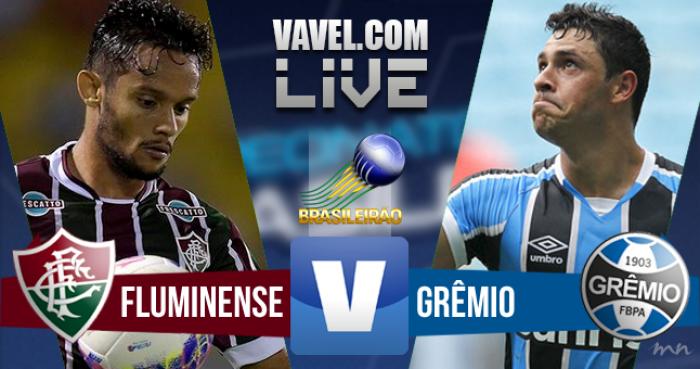 Resultado Fluminense x Grêmio no Brasileirão 2016 (1-1)