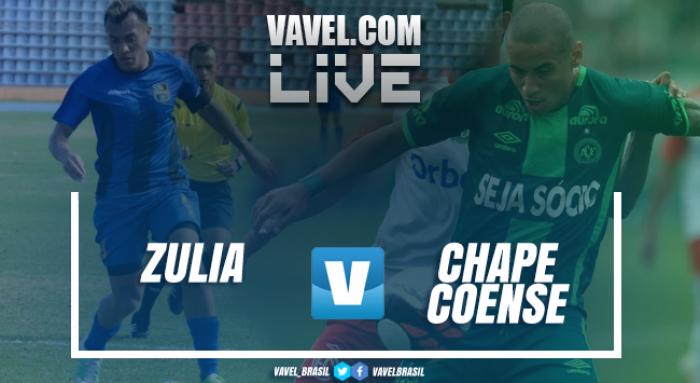 Resultado Zulia FC vs Chapecoense por la Copa Libertadores(1-2)