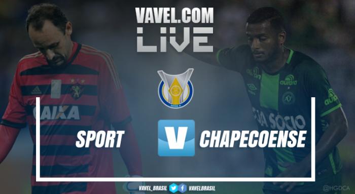 Resultado Sport 3x0 Chapecoense no Campeonato Brasileiro 2017