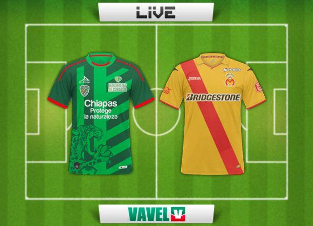 Resultado Chiapas - Monarcas en Liga MX 2014 (1-1)