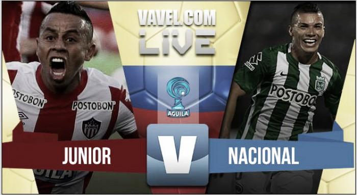 Nacional conquistó la Copa Águila en Barranquilla (0-1)