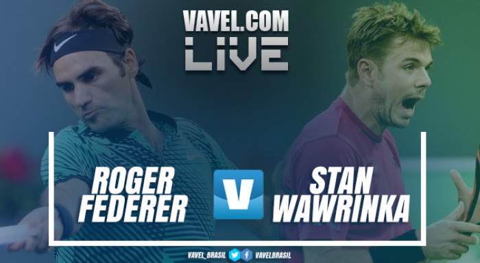 Partida Roger Federer x Stan Wawrinka na final do Masters 1000 de Indian Wells