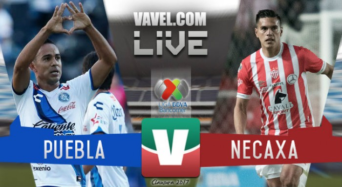 Resultado y goles del partido Puebla 0-1 Necaxa de la Liga MX Clausura 2017