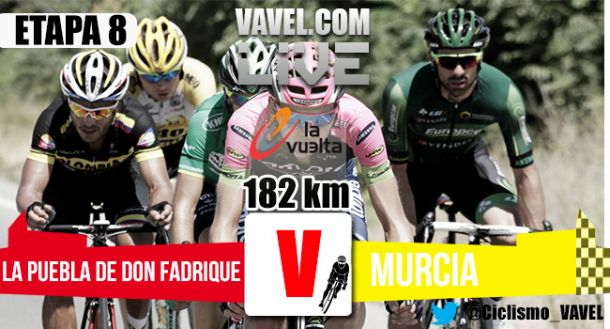 Resultado de la octava etapa de la Vuelta a España 2015: Stuyven gana en Murcia