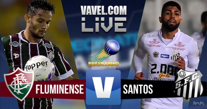 Resultado Fluminense x Santos pelo Brasileirão 2016 (2-4)