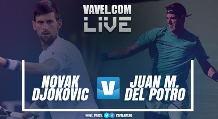 Djokovic vence Del Potro no Masters 1000 de Indian Wells (2-1)