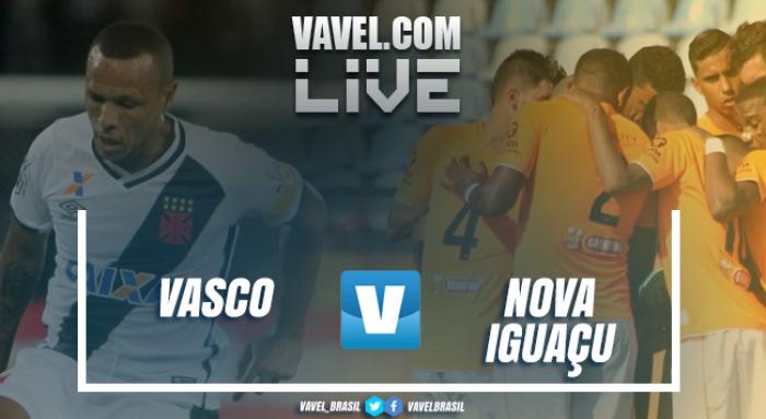 Resultado Novo Iguaçu 0x2 Vasco no Campeonato Carioca 2017