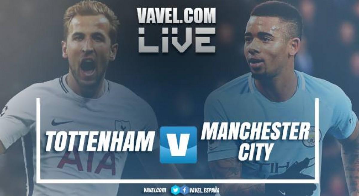Resultado Tottenham x Manchester City pela Premier League 2017/18 (1-3)