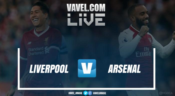 Inglaterra: Liverpool cilindra e afunda ainda mais o Arsenal