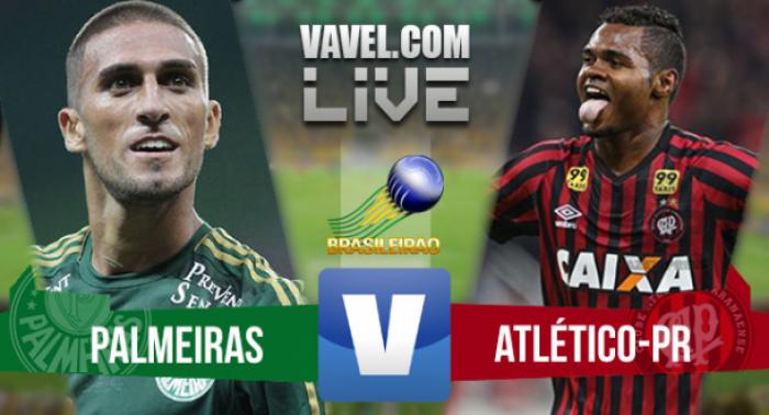Resultado Atlético-PR x Palmeiras no Campeonato Brasileiro 2016 (0-1)