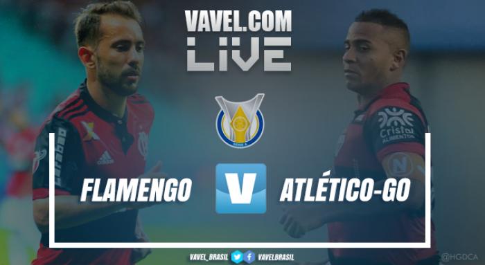 Flamengo vence o Atlético-GO pelo Campeonato Brasileiro (2-0)