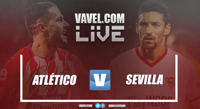 Resumen del Atlético de Madrid vs Sevilla en Copa del Rey 2018 (1-2)