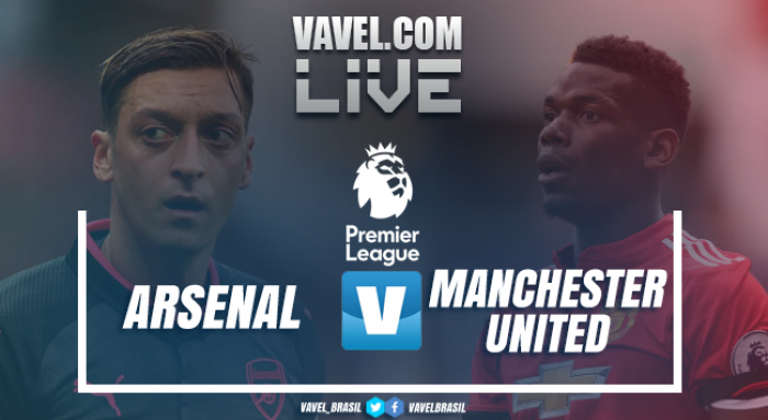 Resultado Arsenal x Manchester United pela Premier League (1-3)