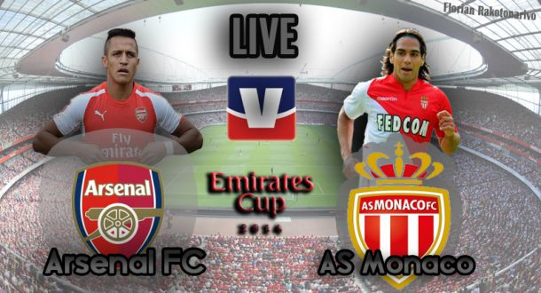 Live Emirates Cup : Arsenal - Monaco en direct