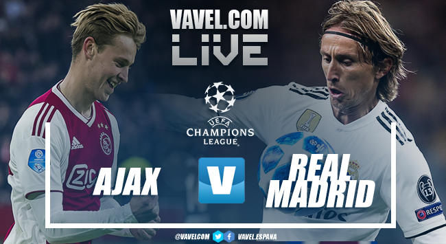 Ajax x real madrid ao vivo