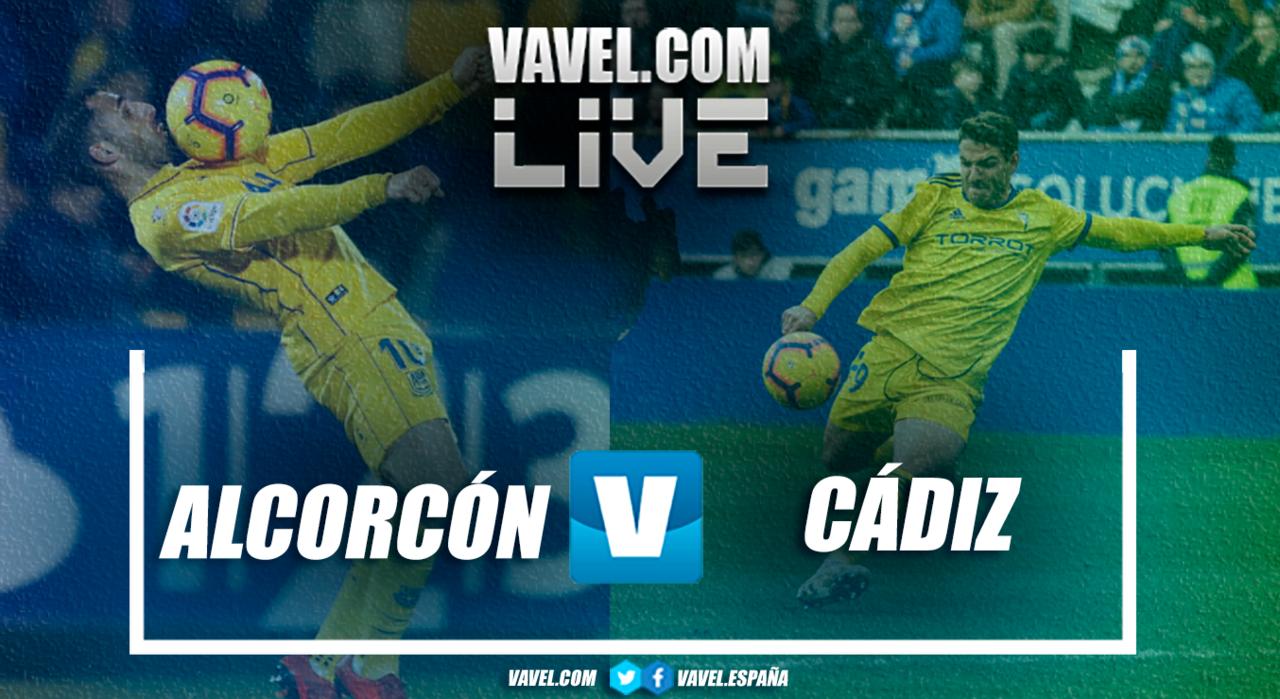 Cádiz - Alcorcón en directo y en vivo online en LaLiga 1 2 3