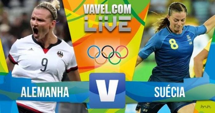 Alemanha vence a Suécia na final do futebol feminino dos Jogos Olímpicos (2-1)