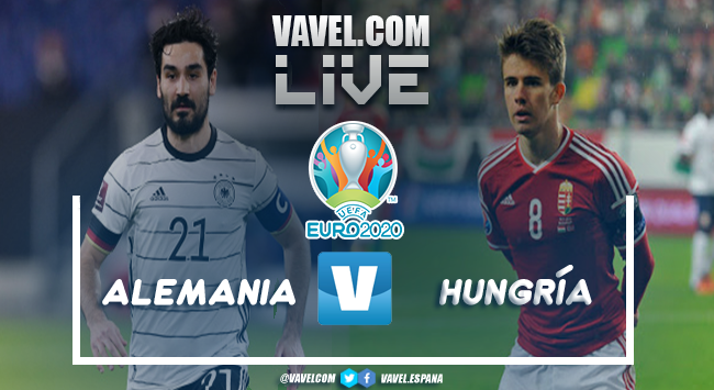 Resumen Alemania vs Hungría por la Eurocopa2020 (2-2)