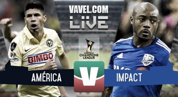 Resultado América - Montreal Impact en la Final Concachampions 2015 (1-1)