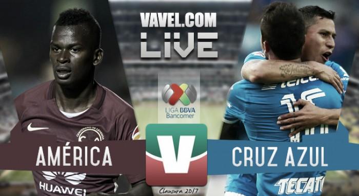 América vs Cruz Azul en vivo ahora en Liga MX 2017 (0-0)