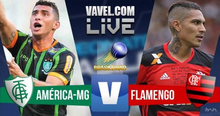 Resultado de América-MG x Flamengo (0-1)