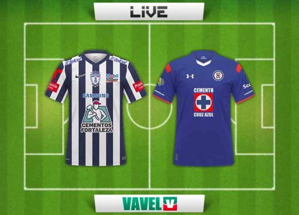 Resultado Pachuca - Cruz Azul (0-1)