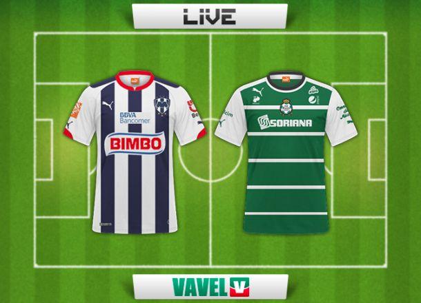 Resultado Monterrey - Santos en Liga MX 2014 (2-3)