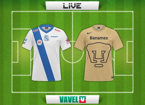 Resultado Puebla - Pumas en Liga MX 2014 (1-2)