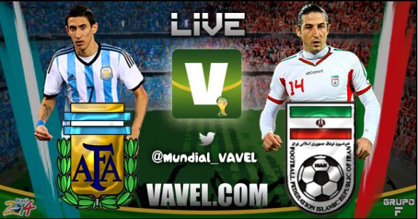 Live Argentina - Iran, Mondiali 2014 in diretta