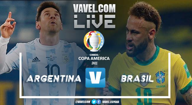 Resumen Argentina 1-0 Brasil por la Copa América 2021